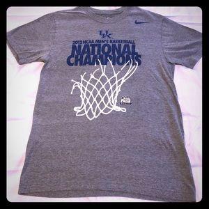 Kentucky basketball Nike 2012 championship t shirt